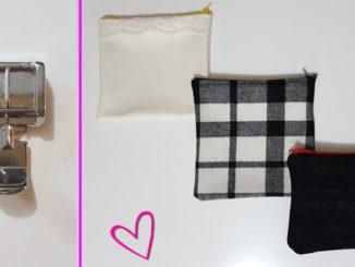 CUCITO FAI DA TE 12 - Come creare una pochette ed usare piedino cerniera