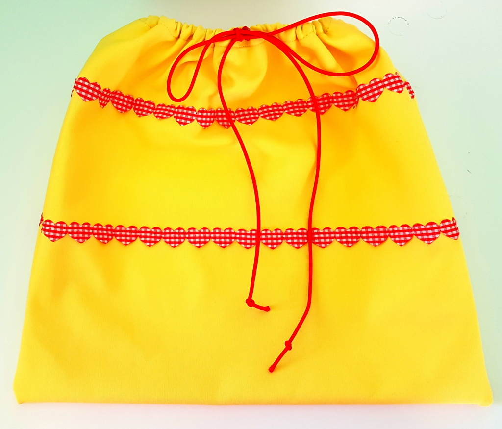 sacchetto stoffa diy