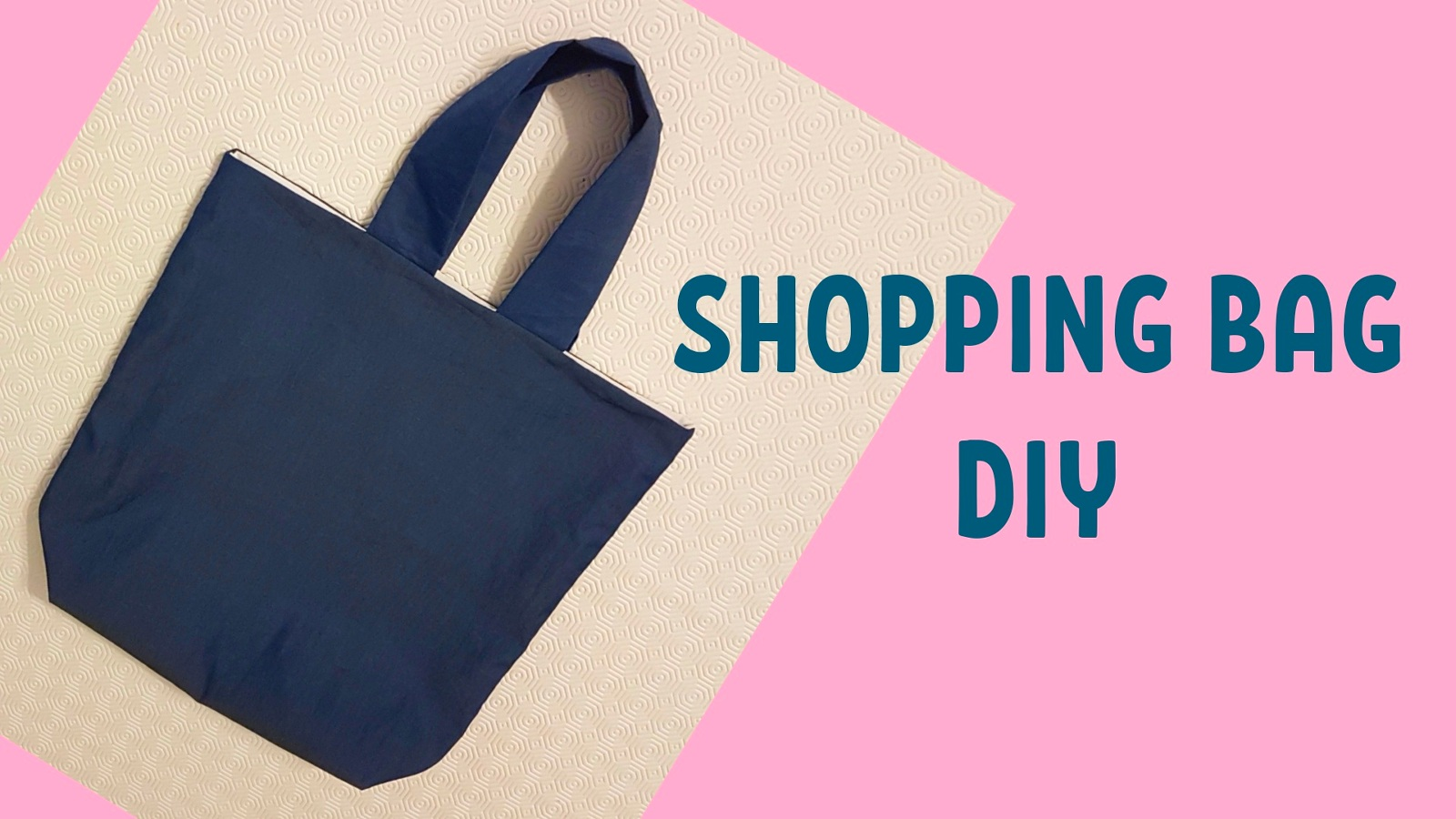 SHOPPER BAG FACILE – CUCITO FAI DA TE 41